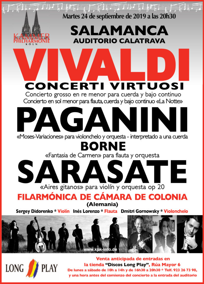 Auditorio Calatrava Orquesta Filarmónica de Cámara de Colonia Salamanca Septiembre 2019