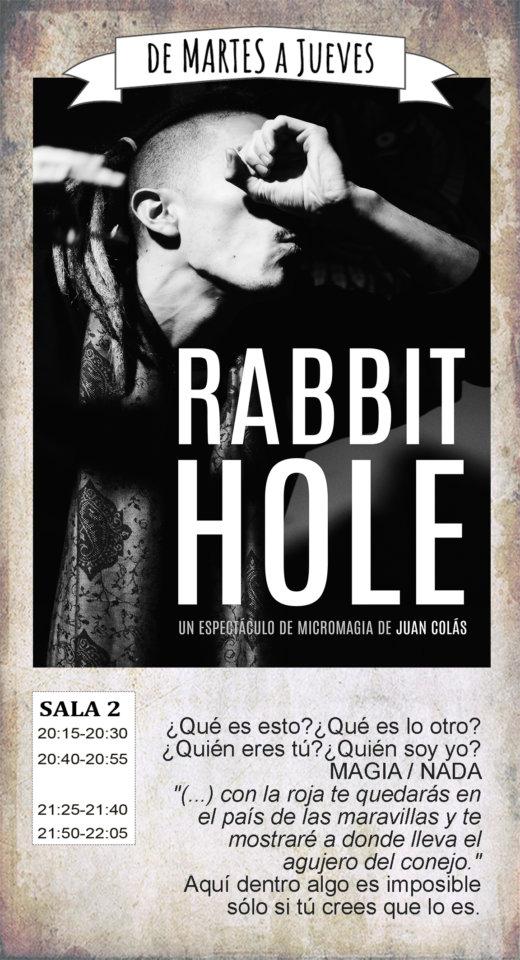 La Malhablada Rabbit hole Salamanca Septiembre 2019