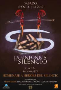 Centro de las Artes Escénicas y de la Música CAEM La sinfónica del Silencio Salamanca Octubre 2019