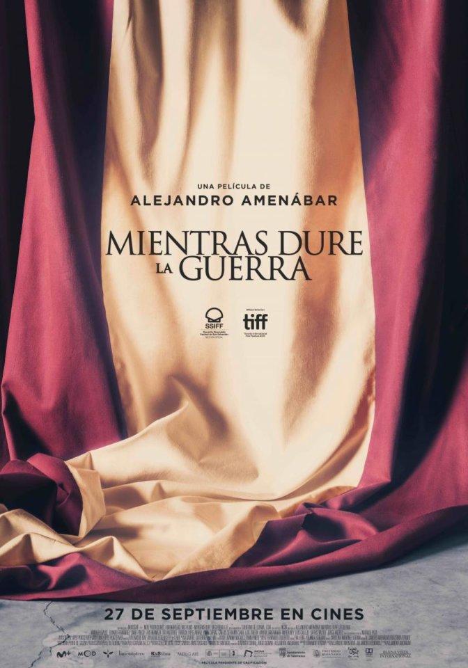 Teatro Liceo Mientras dure la guerra Salamanca Septiembre 2019