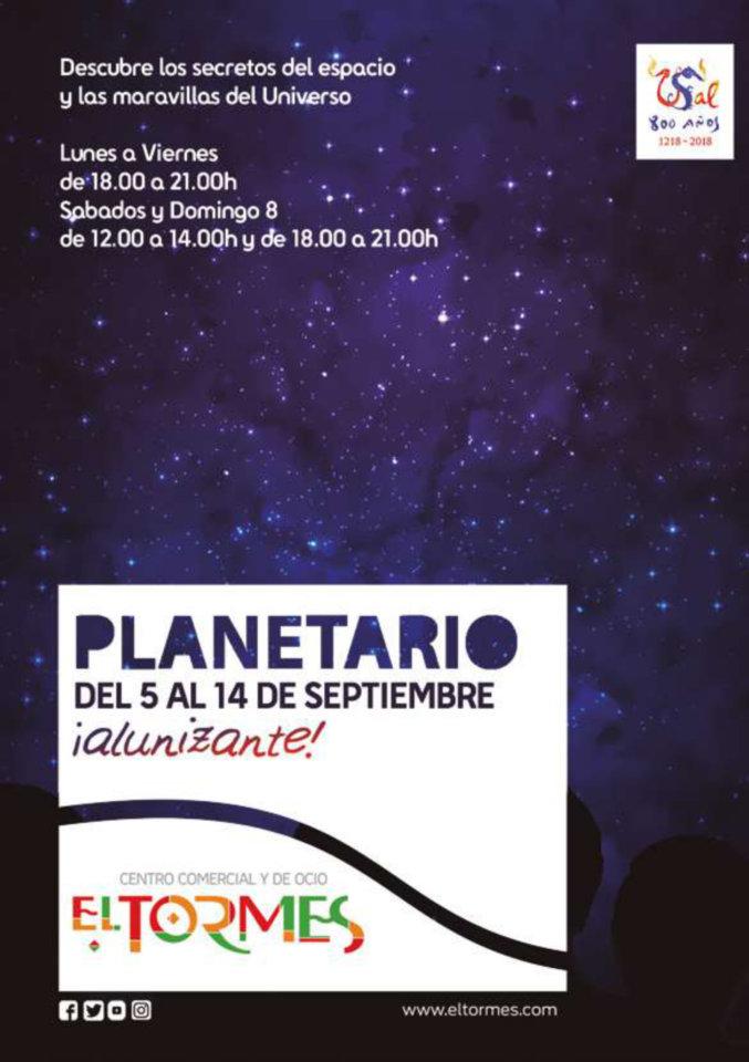 Ferias y Fiestas 2019 Centro Comercial El Tormes Planetario 2019