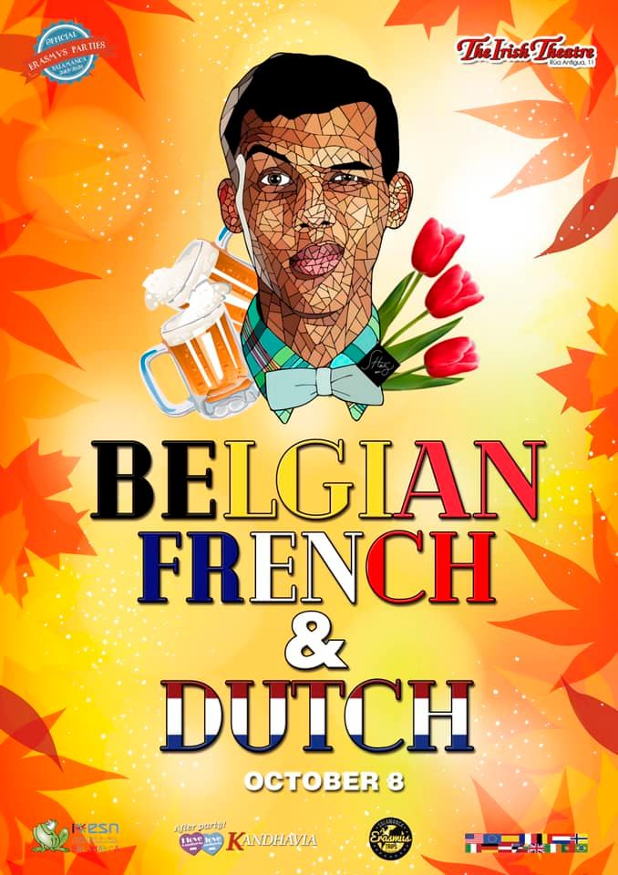 The Irish Theatre Fiesta Francesa, Belga y Holandesa Salamanca Octubre 2019
