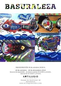 Artilugio Estudio Basuraleza Salamanca Octubre noviembre diciembre 2019