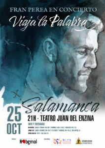 Aula Teatro Juan del Enzina Fran Perea Salamanca Octubre 2019
