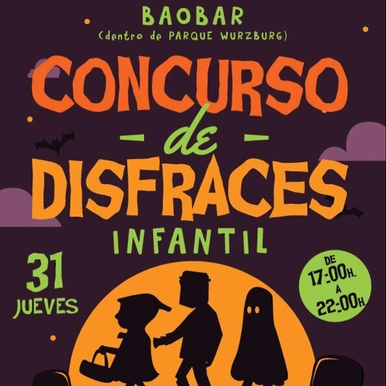 Baobar Norte Concurso Infantil de Disfraces de Halloween Salamanca Octubre 2019