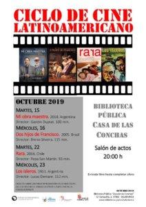 Casa de las Conchas Ciclo de Cine Latinoamericano Salamanca Octubre 2019