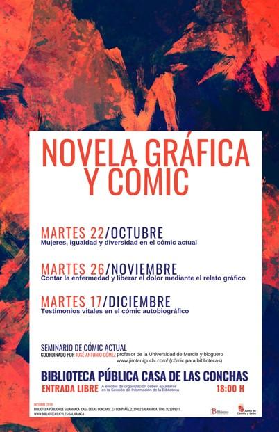 Casa de las Conchas Novela Gráfica y Cómic Salamanca 2019