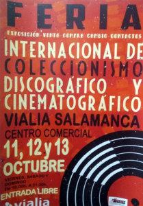 Centro Comercial Vialia Feria Internacional de Coleccionismo Discográfico y Cinematográfico Salamanca Octubre 2019