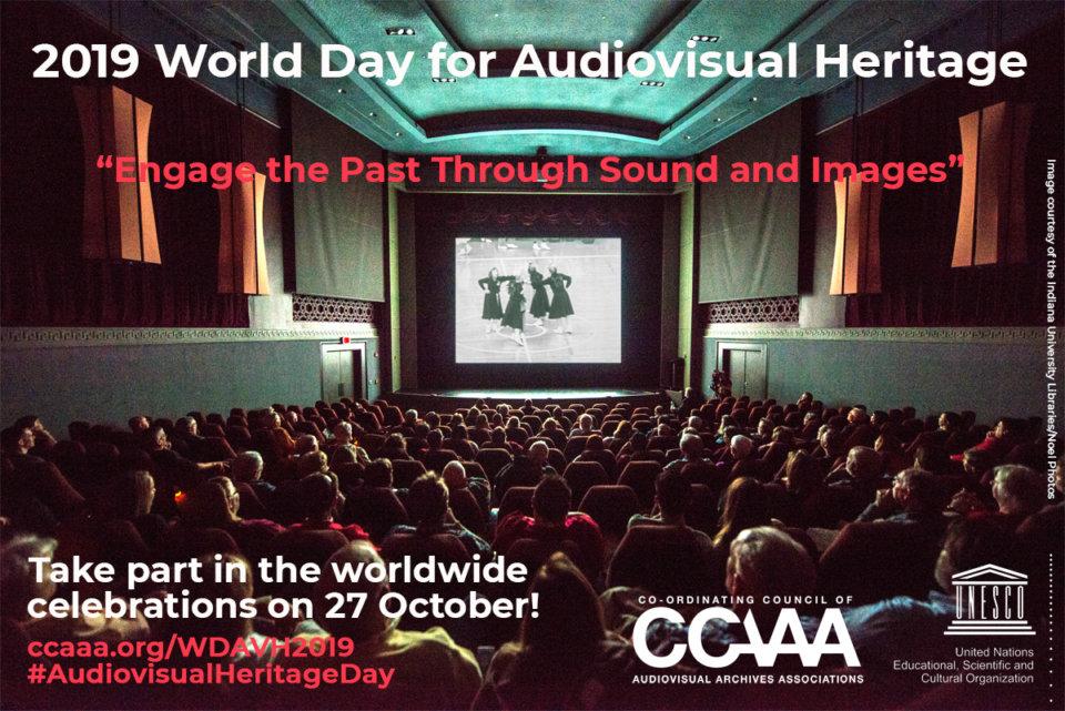 Filmoteca de Castilla y León Día Mundial del Patrimonio Audiovisual Salamanca Octubre 2019