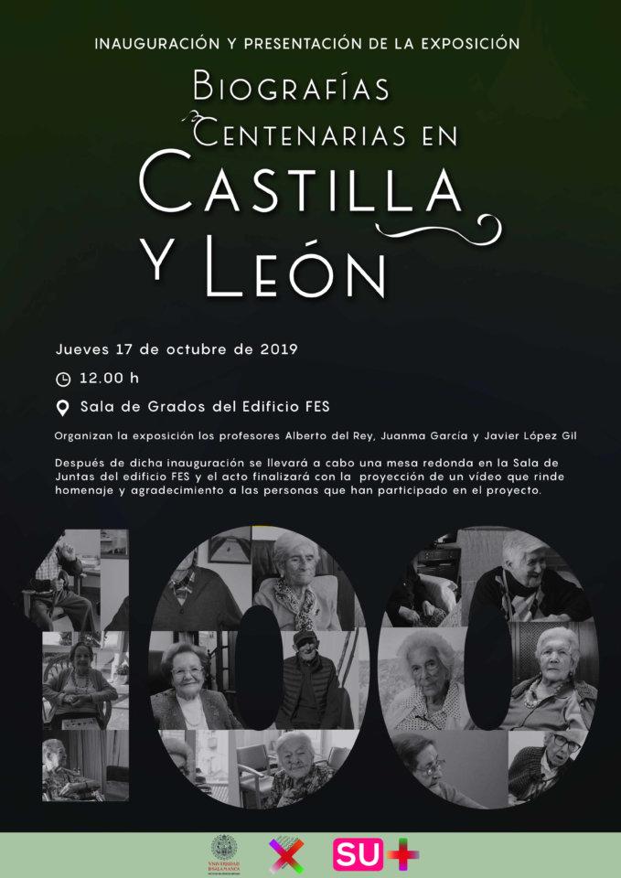 Facultad de Ciencias Sociales Biografías Centenarias en Castilla y León Salamanca 2019