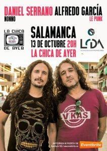 La Chica de Ayer Nonno + Le Punk Salamanca Octubre 2019