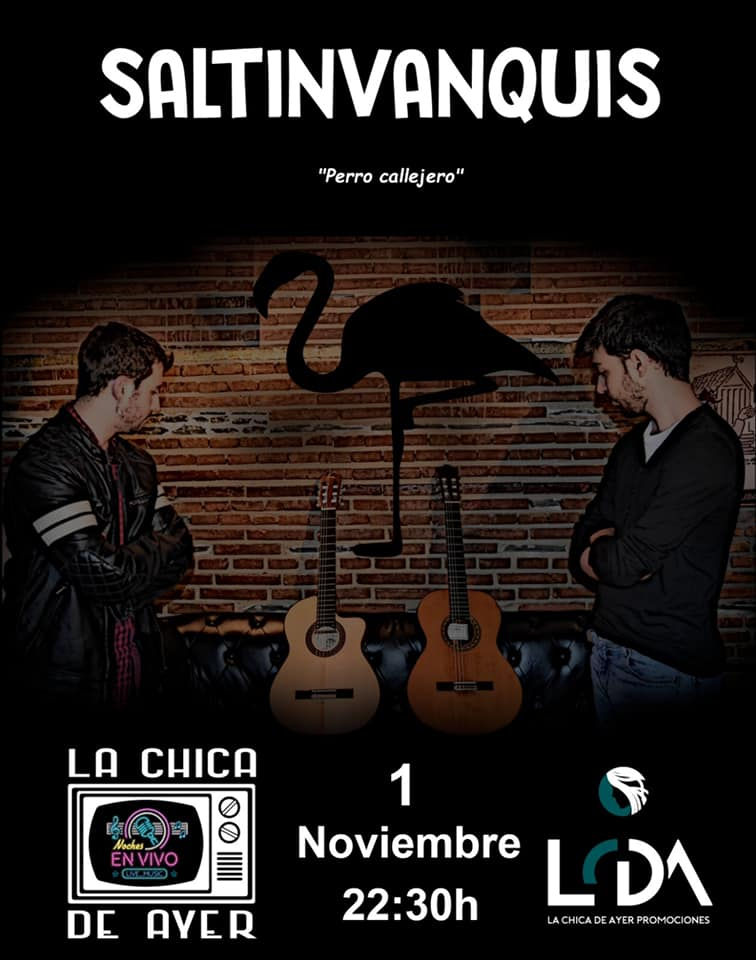 La Chica de Ayer Saltinvanquis Salamanca Noviembre 2019