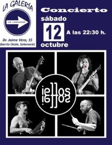 La Galería iellos Salamanca Octubre 2019