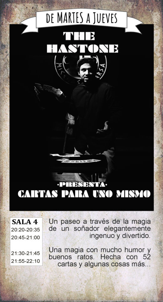 La Malhablada Cartas para uno mismo Salamanca Noviembre 2019