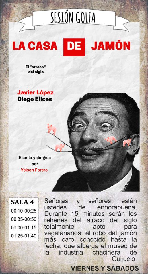 La Malhablada La casa de jamón Sesión Golfa Salamanca Octubre 2019