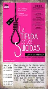 La Malhablada La tienda de los suicidas Salamanca Octubre 2019