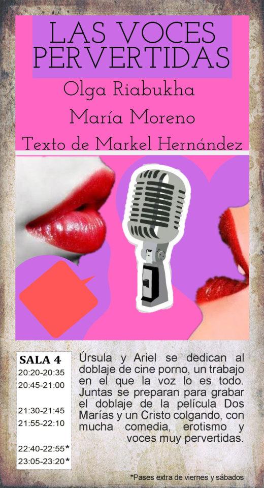 La Malhablada Las voces pervertidas Salamanca Octubre 2019
