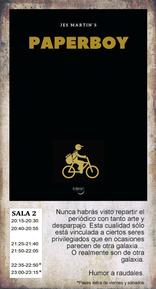 La Malhablada Paperboy Salamanca Octubre 2019