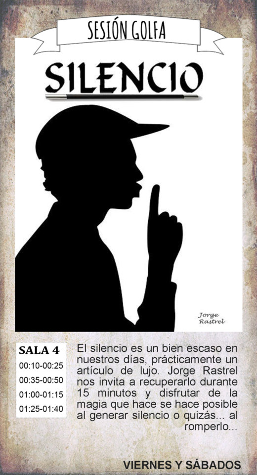 La Malhablada Silencio Sesión Golfa Salamanca Noviembre 2019