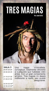 La Malhablada Tres magias Salamanca Noviembre 2019