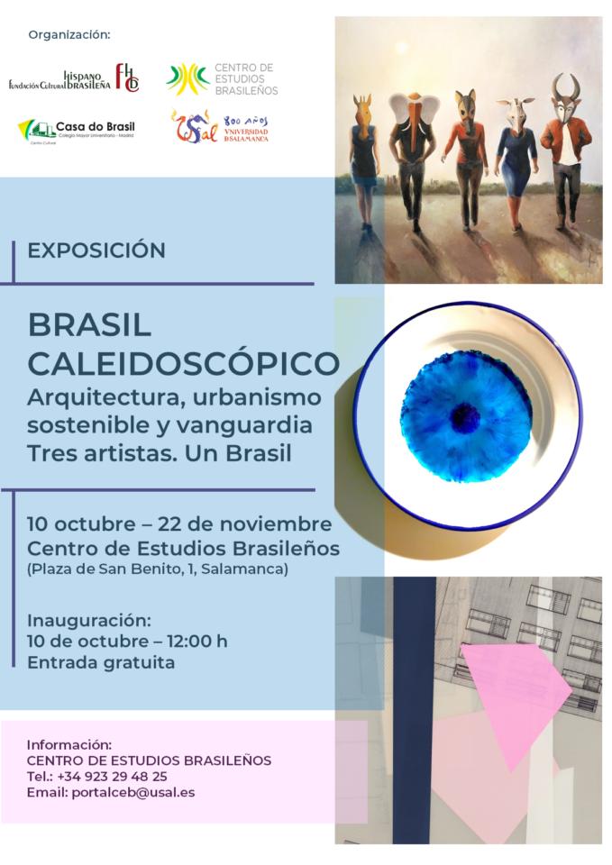Palacio de Maldonado Brasil caleidoscópico Salamanca Octubre noviembre