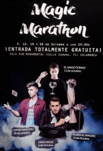 Pub Monumental Calle Zamora Magic Marathon Salamanca Octubre 2019