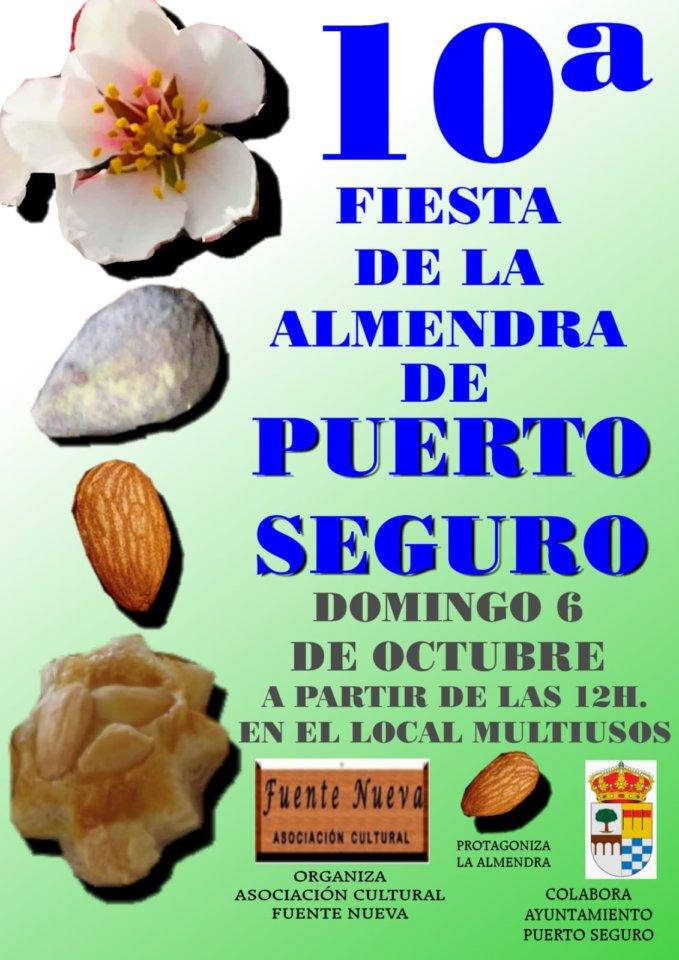Puerto Seguro X Feria de la Almendra Octubre 2019