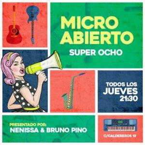 Super 8 Micro abierto Salamanca Octubre noviembre diciembre 2019