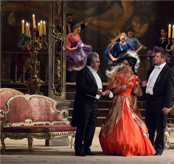 Teatro Liceo La traviata Salamanca Octubre 2019