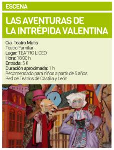 Teatro Liceo Las aventuras de la intrépida Valentina Salamanca Octubre 2019