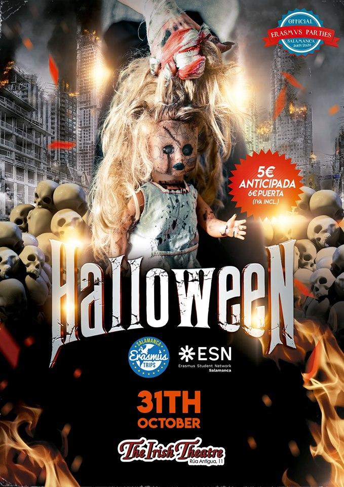 The Irish Theatre Halloween Salamanca Octubre 2019