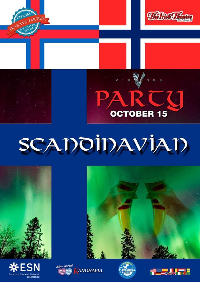 The Irish Theatre Scandinavian Party Salamanca Octubre 2019