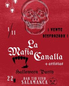 Tío Vivo La Mafia Canalla Salamanca Noviembre 2019