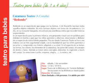 Torrente Ballester Caramuxo Teatro Salamanca Noviembre 2019