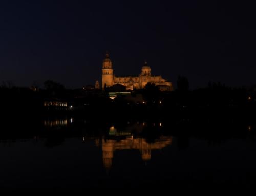 Salamanca que fácil es echarse a dormir mecido por esas vistas