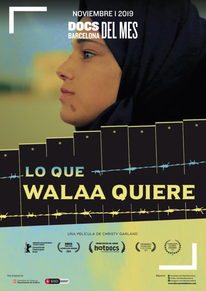 Aula Teatro Juan del Enzina Lo que Walaa quiere Salamanca Noviembre 2019