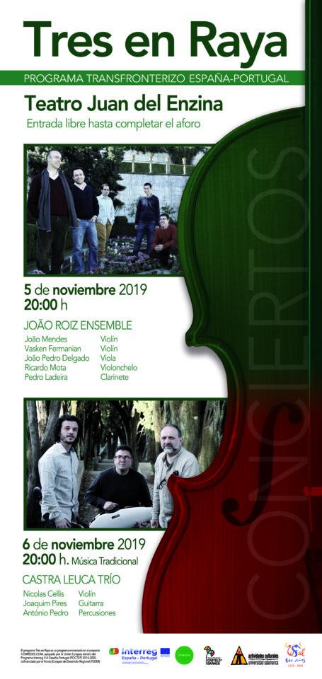 Aula Teatro Juan del Enzina Tres en Raya Salamanca Noviembre 2019