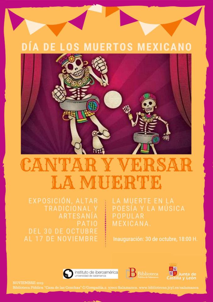 Casa de las Conchas Día de los muertos mexicano Salamanca Octubre noviembre 2019