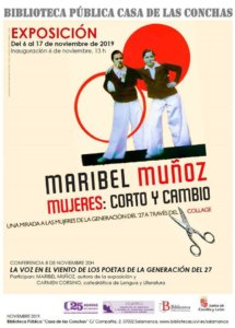 Casa de las Conchas Mujeres Corto y cambio Salamanca Noviembre 2019