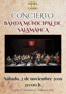 Casino de Salamanca Banda Municipal de Música Noviembre 2019