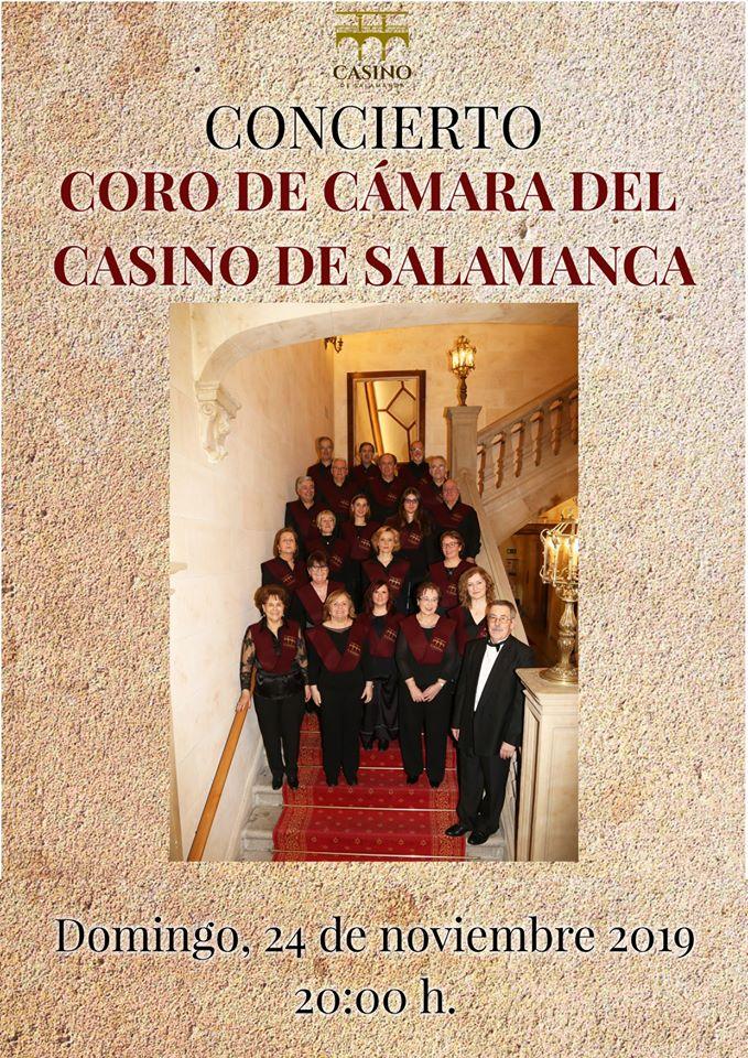 Casino de Salamanca Coro de Cámara Noviembre 2019