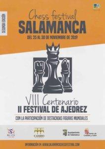 Casino de Salamanca II Festival de Ajedrez Noviembre 2019