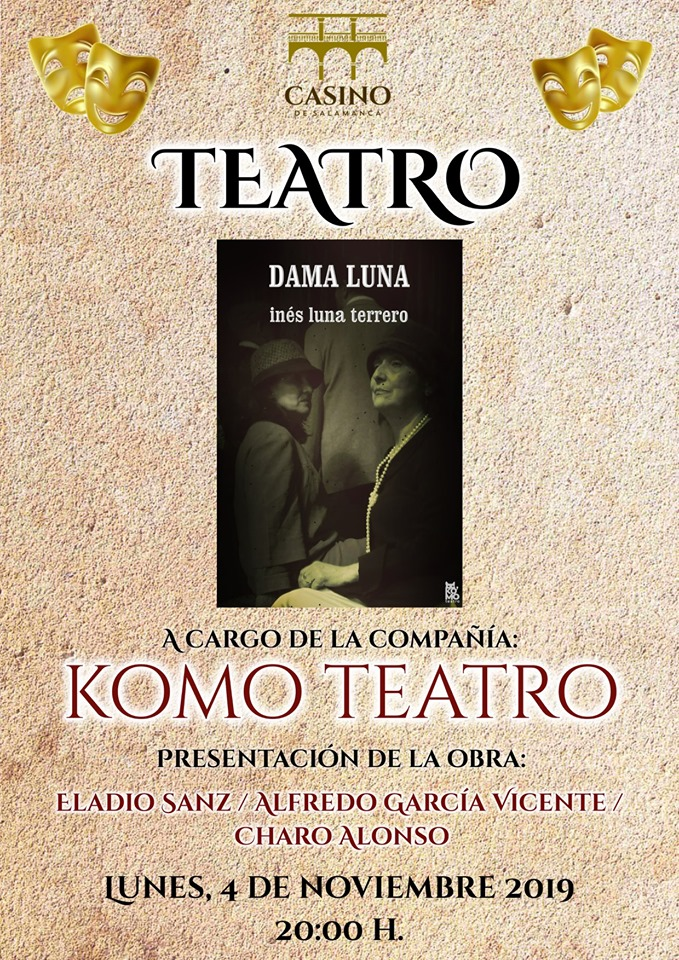 Casino de Salamanca Komo Teatro Noviembre 2019