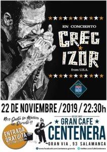 Centenera Greg Izor Salamanca Noviembre 2019