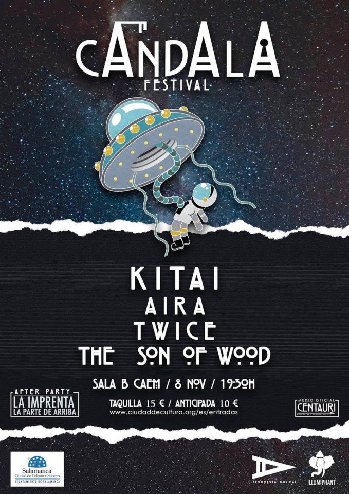 Centro de las Artes Escénicas y de la Música CAEM Cándala Festival Conciertos Sala B Salamanca Noviembre 2019