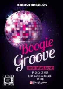 La Chica de Ayer Boogie Groove Salamanca Noviembre 2019