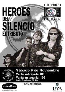 La Chica de Ayer El Despertar del Silencio Salamanca Noviembre 2019