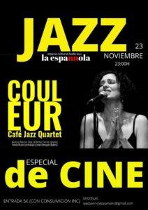 La Espannola Couleur Café Jazz Quartet Salamanca Noviembre 2019