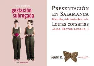 Letras Corsarias Layla Martínez Salamanca Noviembre 2019