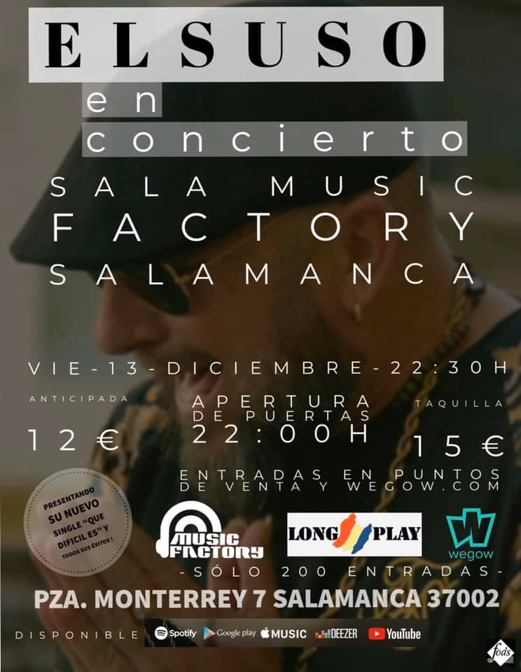 Music Factory El Suso Salamanca Diciembre 2019